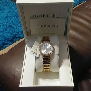 Anne Klein NY Women's Two-Tone Rosegold Watch